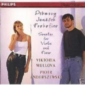 Album artwork for Debussy, Janacek, Prokoviev: Violin Son. / Mullova