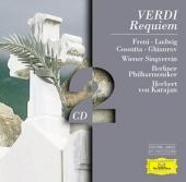 Album artwork for Verdi: REQUIEM / Freni, Ludwig, Karajan