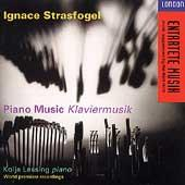 Album artwork for Ignace Strasfogel: Piano Music / Kolja Lessing