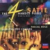 Album artwork for Satie: The 4 Handed Piano / Roge, Collard