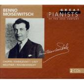 Album artwork for Benno Moiseiwitsch: Great Pianists of the 20th C,