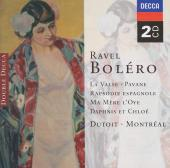 Album artwork for Ravel: Boléro, La valse, Pavane / Charles Dutoit