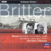 Album artwork for Britten at Aldeburgh / Sviataslov Richter