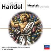Album artwork for Handel: Messiah - Arias and Choruses