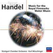 Album artwork for Handel: Royal Fireworks & Water Music