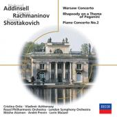 Album artwork for ADDINSELL, RACHMANINOV, SHOSTAKOVICH