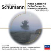 Album artwork for SCHUMANN: PIANO CONCERTO, CELLO CONCERTO