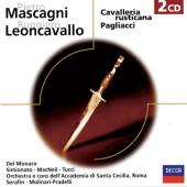 Album artwork for CAVALLERIA RUSTICANA / PAGLIACCI