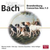 Album artwork for BRANDENBURG CONCERTOS 1 - 3