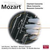Album artwork for Mozart: Clarinet, Oboe & Bassoon Concertos