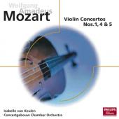 Album artwork for MOZART: VIOLIN CONCERTOS 1, 4 & 5