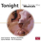 Album artwork for TONIGHT: HITS FROM MUSICALS