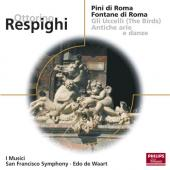 Album artwork for Respighi: Pines of Rome, Fountains of Rome (Waart)