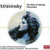 Album artwork for Stravinsky: Rite of Spring, Petrushka (Haitink)