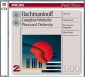 Album artwork for Rachmaninov: Works for Piano and Orchestra