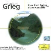 Album artwork for Grieg: Piano Concerto, Peer Gynt Suites (Anda)
