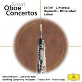 Album artwork for Great Oboe Concertos (Bellini, Cimarosa) (Holliger