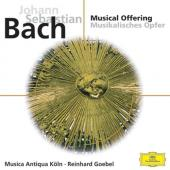 Album artwork for Bach: Musical Offering (Goebel)