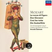Album artwork for LE NOZZE DI FIGARO, DON GIOVANNI, COSI FAN TUTTE,