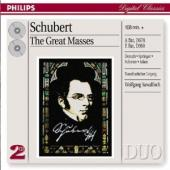 Album artwork for SCHUBERT: THE GREAT MASSES