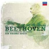 Album artwork for Beethoven: Symphonies 1-9 / Solti