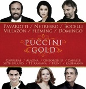 Album artwork for Puccini Gold - Pavarotti, Netrebko, Villazón, et