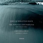 Album artwork for Bach: Sonatas & Partitas for Violin Solo/ Holloway