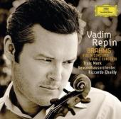 Album artwork for Brahms: Violin Concerto, Double Concerto / Rapin