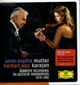 Album artwork for Anne-Sophie Mutter / Karajan: Complete Recordings