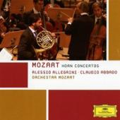 Album artwork for Mozart: Horn Concerti 1-4 / Allegrini, Abbado