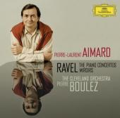 Album artwork for Ravel: Piano Concertos, Miroirs / Aimard, Boulez