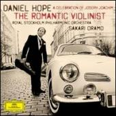 Album artwork for Daniel Hope: THE ROMANTIC VIOLINIST