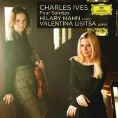 Album artwork for Ives: Four Violin Sonatas / Hahn, Lisitsa