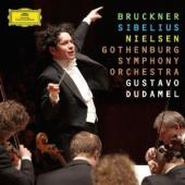 Album artwork for Gustavo Dudamel: Sibelius, Bruckner, Nielsen