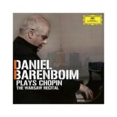 Album artwork for Daniel Barenboim: Plays Chopin - The Warsaw Recita