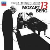 Album artwork for Mozart: Serenade / Berg: Chamber Concerto (Uchida)