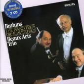 Album artwork for Brahms - The piano trios (Beaux Arts Trio)