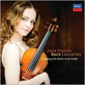 Album artwork for Bach: Concertos for Violin / Julia Fischer