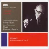 Album artwork for Brahms: Piano concertos 1 & 2 / Curzon