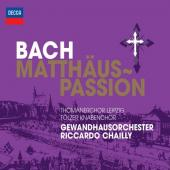 Album artwork for Bach: St. Matthew Passion / Chailly