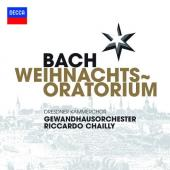 Album artwork for Bach: Weihnachtsoratorium / Riccardo Chailly