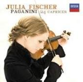 Album artwork for Paganini: Caprices for solo violin / Julia Fischer