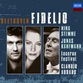 Album artwork for Beethoven: Fidelio / Stemme, Kaufmann, Abbado