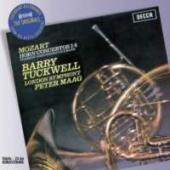 Album artwork for Mozart: Horn Concertos 1-4 / Tuckwell