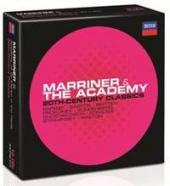 Album artwork for Marriner & The Academy: 20th Century Classics