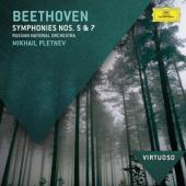 Album artwork for Beethoven: Symphonies 5, 7 / Pletnev