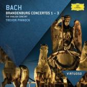 Album artwork for Bach: Brandenburg Concerti 1-3 / Pinnock