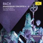 Album artwork for Bach: Brandenburg Concerti 4, 5, 6 / Pinnock