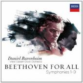 Album artwork for Beethoven: 9 Symphonies / Barenboim