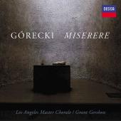 Album artwork for Gorecki: Miserere / Los Angeles Master Chorale